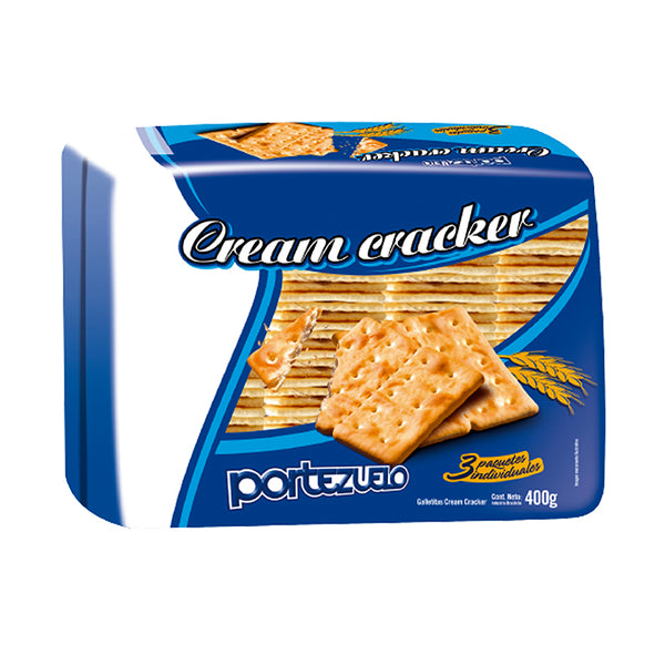 Portezuelo Cream Crackers Tripack