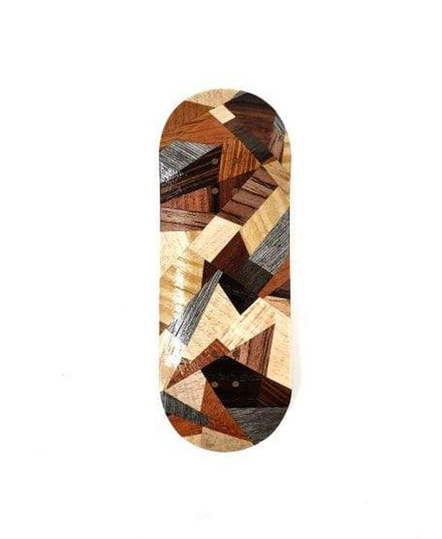 Mckenzie Abstract Split Mid Shape 34mm Fingerboard Deck