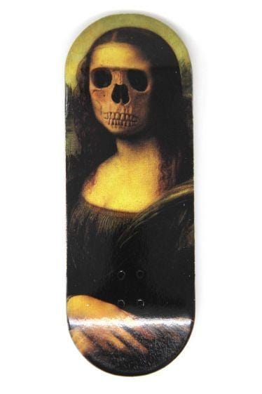 Mona Wooden Fingerboard Graphic Deck (34mm)