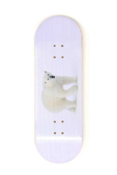 The Bear Wooden Fingerboard Graphic Deck (32mm)