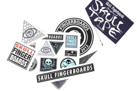 Skull Tape And Sticker Pack