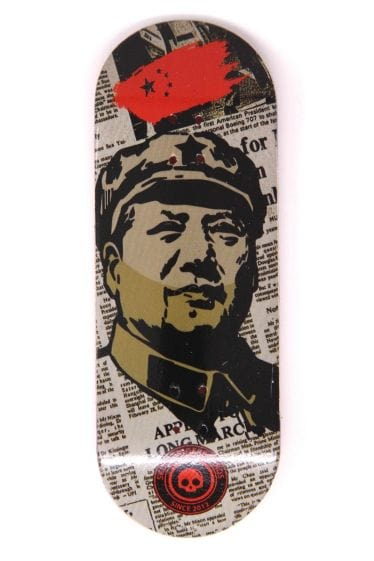 Mao Wooden Fingerboard Graphic Deck (34mm)