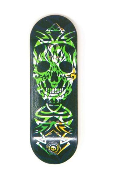 The Monster Wooden Fingerboard Graphic Deck (32mm)