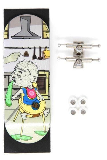 Feed Me Complete Wooden Fingerboard (34mm)