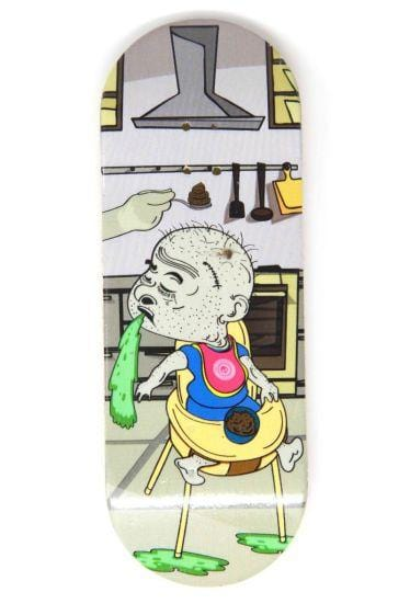 Feed Me Wooden Fingerboard Graphic Deck (34mm)