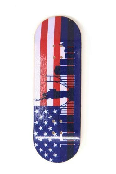 The States Wooden Fingerboard Graphic Deck (32mm)