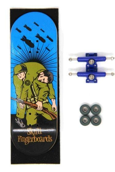 The Hero Complete Wooden Fingerboard (32MM) (Random Truck Colour) (BLEM)