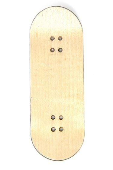 F**K YOU Wooden Fingerboard Graphic Deck (34mm)