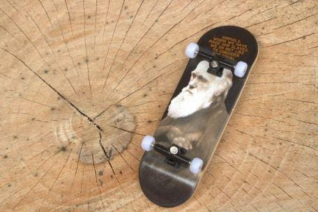 The Manimal Complete Wooden Fingerboard (32MM)