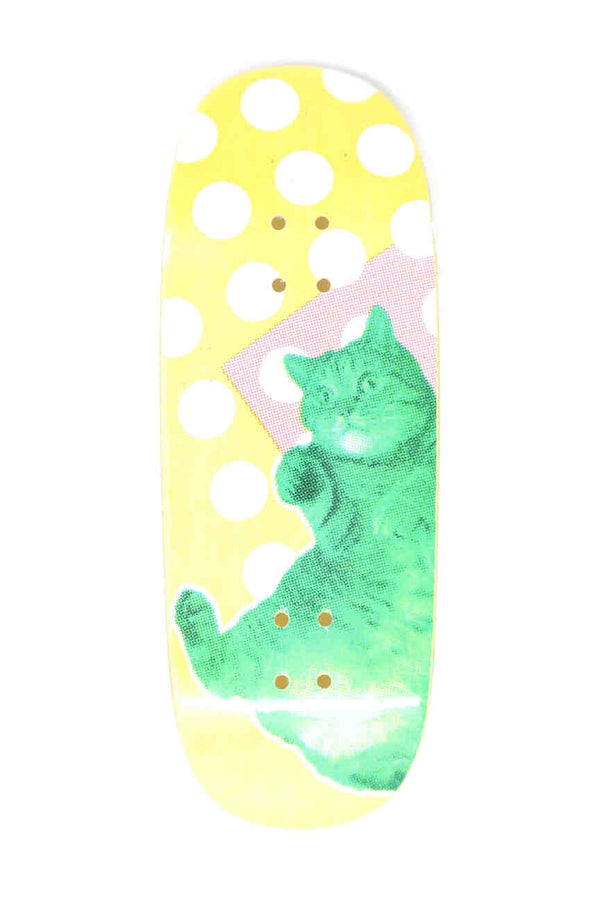 "DK ""Kitten"" Graphic Fingerboard Deck (34mm) (RANDOM PLY COLOUR)"