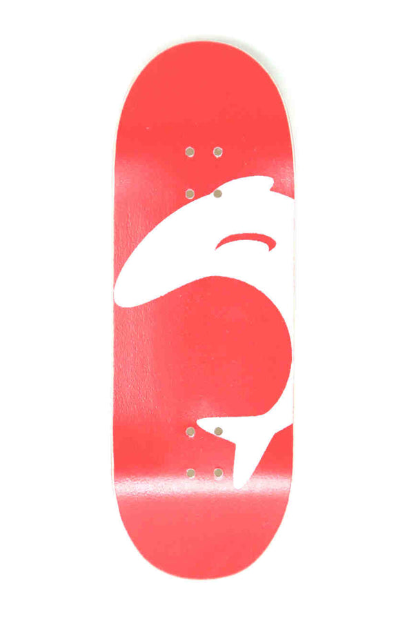 Flipfish - Red/White Logo Fingerboard Deck (34mm)