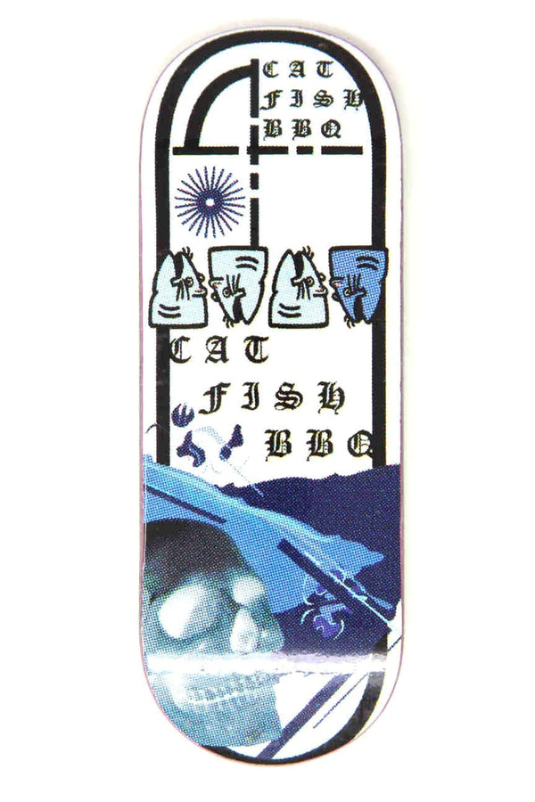 Catfishbbq - Blues 34.5mm Fingerboard Deck (Saltwater)