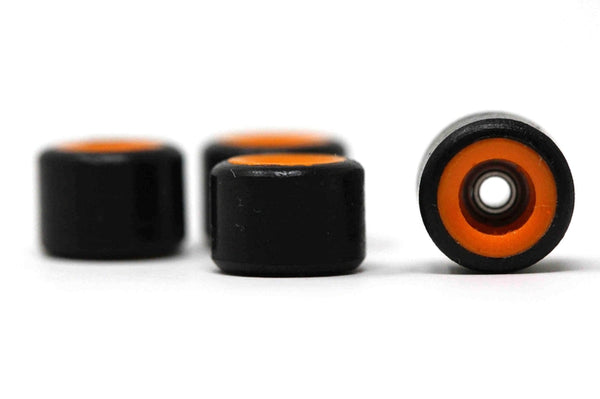 Elastico - Black/Orange Dual Core Urethane Wheels (70D)