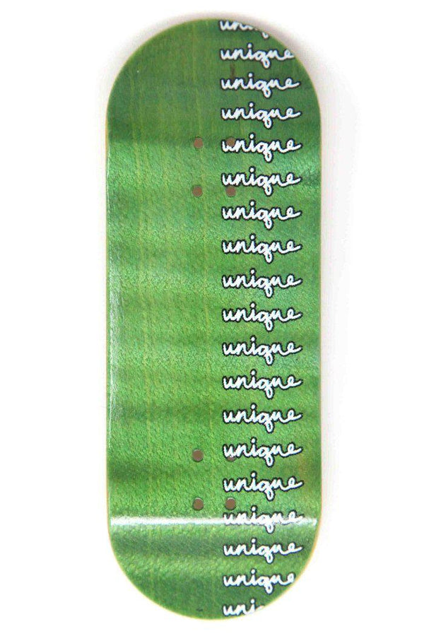 Unique - Repeating Script Graphic Deck (Juvie 34MM)