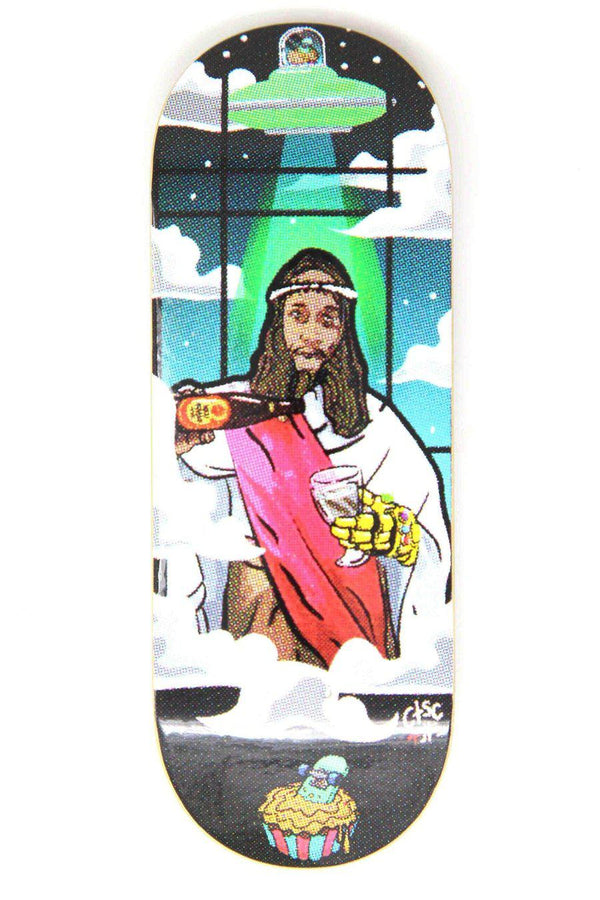 Mckenzie - Drunk Jesus Graphic Deck (34mm)