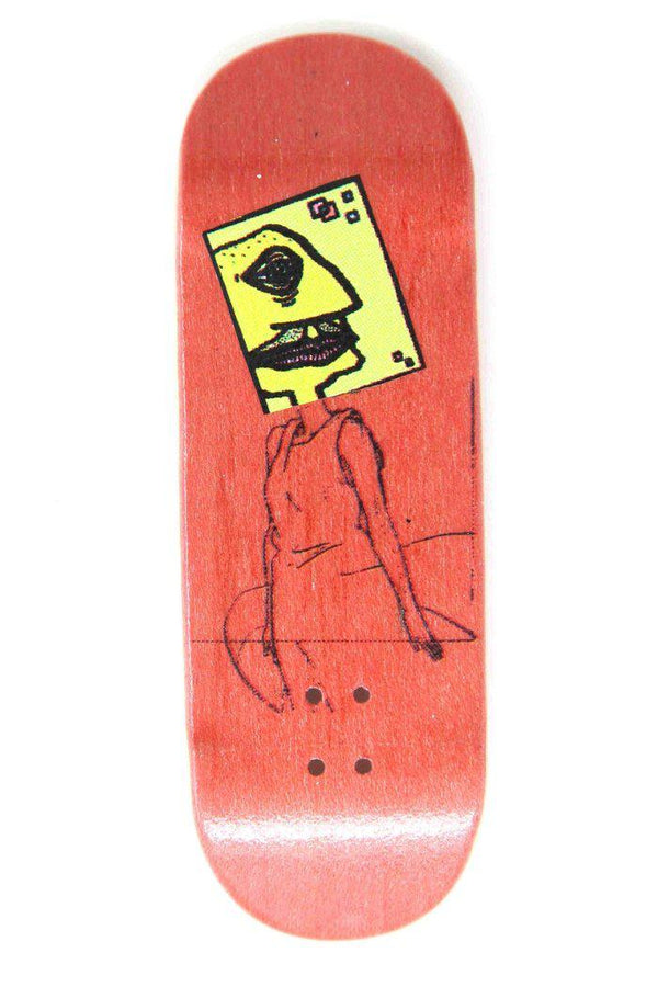 Ravi Sauce - Red Alert Graphic Deck (Sauce 32mm)
