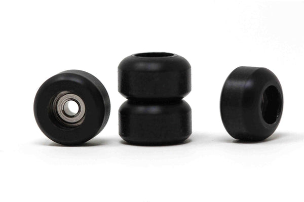 'Pitch Black' CNC Single Bearing Wheels