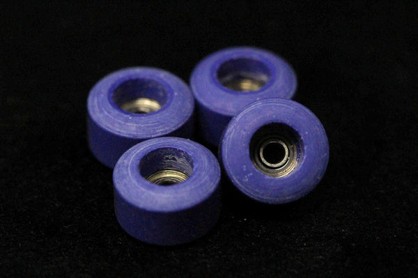 Dirty FB illPills - Space Purple Urethane Fingerboard Wheels (70D Street Shape)
