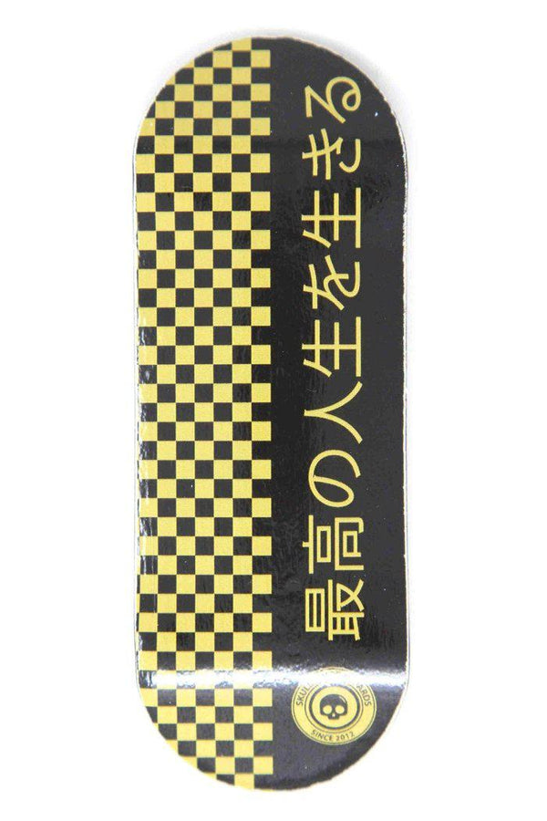 Japan Gold Edition Wooden Fingerboard Graphic Deck (34mm)