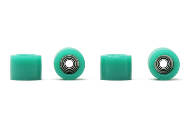 Rolling Fingers Core Bearing Wheels (Green)
