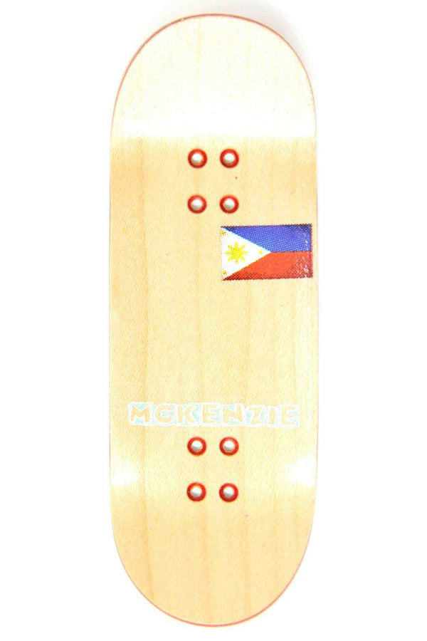 Mckenzie Rasta Split Ply Fingerboard Deck (34mm)