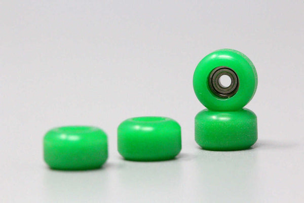 'Fresh Green' CNC Single Bearing Wheels
