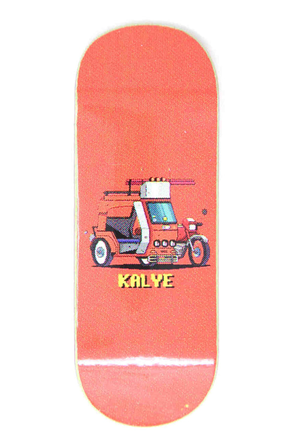 Kalye - 8-Bit Tricycle Fingerboard Deck (34mm)
