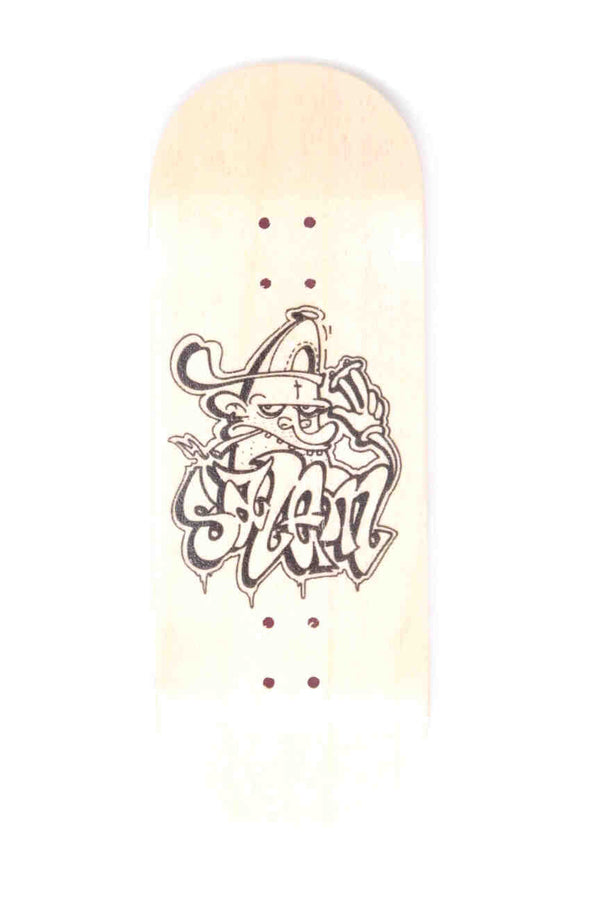 Salem Worldwide - Salem X Noude Real Wear Fingerboard Deck (34mm)