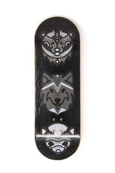 The Totem Wooden Fingerboard Graphic Deck (32mm)