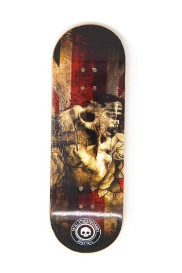 The Jack Wooden Fingerboard Graphic Deck (32mm)