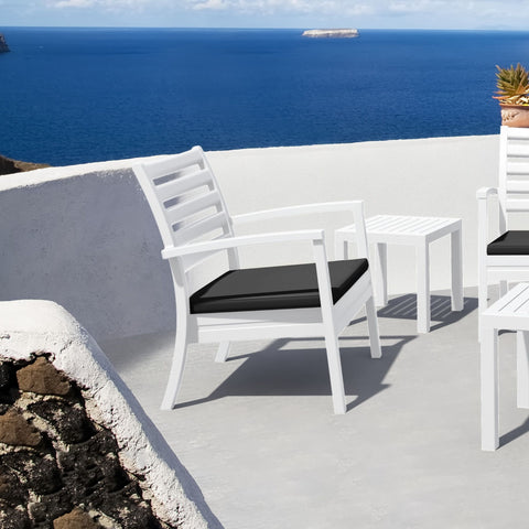 Artemis Club Chair (White)