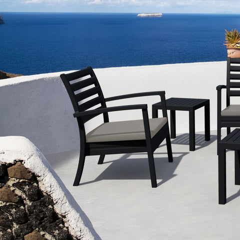 Artemis Club Chair (Black)