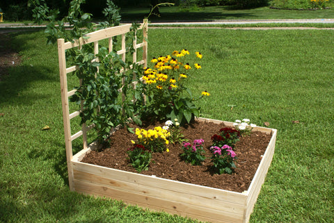 Eden Raised Garden Bed w/ Trellis