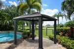 Siena Hardtop Gazebo with Screens