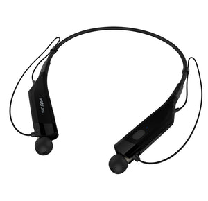 Wireless Behind-Neck Earphone, Magnet holder, light weight, BT4.0 CSR, Call Alert, Vibration, Black