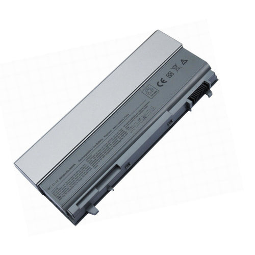 Laptop Replacement Battery, For Dell®, Latitude E6400 E6410 E6500 E6510 Precision M2400 M4400 M4500 Compatible P/N: 4M529 312-0749 F8TTW PT434 PT437 KY266 FU274 FU571 MN632 MP303 MP307 W1193 KY477, 11.1V, 4400mAh, 6 Cell