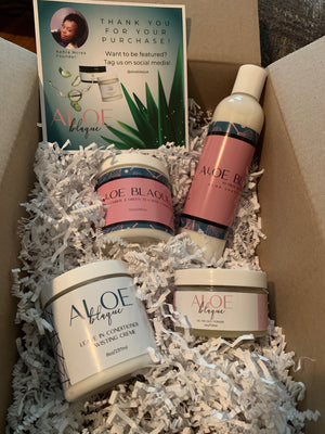 The Aloe Blaque Wash Day Set
