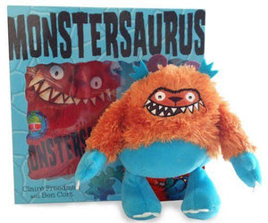 Monstersaurus Book and Toy Collection Pack Set - Freedman, Claire Cort