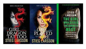 Stieg Larsson Collection Millenium Trilogy Series 3 Books Set -Paperback