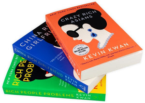 Kevin Kwan Trilogy Collection 3 Books Crazy Rich Asians
