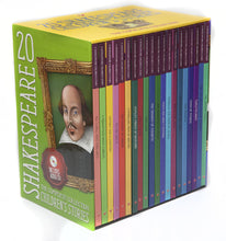 Load image into Gallery viewer, Shakespeare Childrens Stories 20 Hardback Books with Audio CD Gift Set