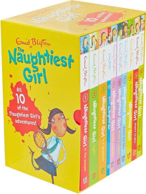 Enid Blyton Naughtiest Girl 10 Books Collection