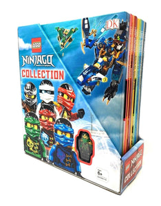 Lego Ninjago Masters of Spinjitzu 10 Books box Gift set Collection with Figure