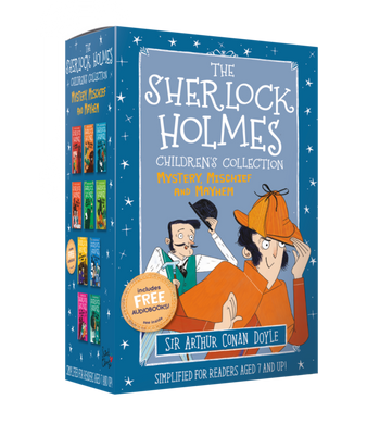 The Sherlock Holmes Children's Collection : Mystery, Mischief and Mayhem 10 Books (Series 2) - Paperback - Age 7-9 -Sir Arthur Conan Doyle