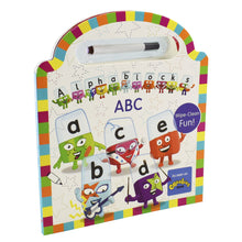 Load image into Gallery viewer, Alphablocks official Wipe Clean ABC - Pen Included Board book - Age 0-5