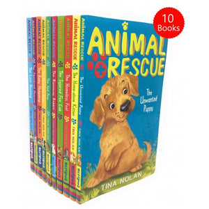 Animal Rescue 10 Books Collection Set