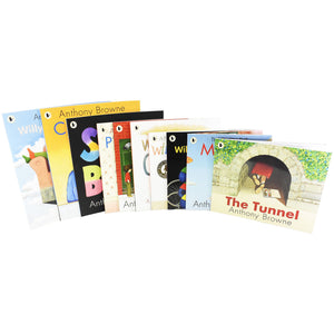 Anthony Browne 10 Picture Books Children Collection Paperback Set