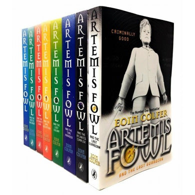Artmis Fowl 8 Book Collection Eoin Colfer