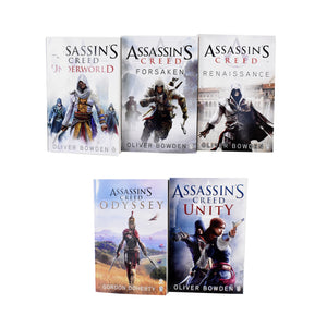 Assassins Creed 10 Books Collection Pack Set - Young Adult - Paperback - Oliver Bowden