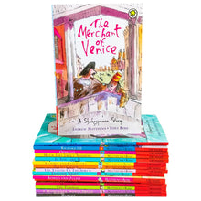 Load image into Gallery viewer, Shakespeare Stories 16 Books Children Collection By Andrew Matthews